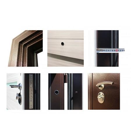 Трехконтурная входная дверь - ТД-8