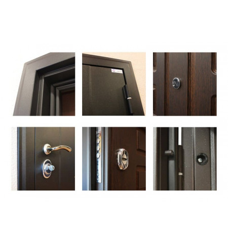 Трехконтурная входная дверь - ТД-9
