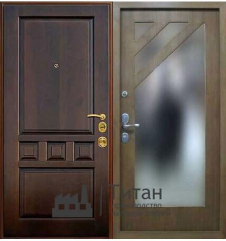 Дверь МДФ с Зеркалом lux-02