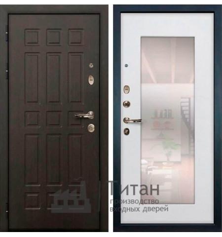 Дверь МДФ с Зеркалом lux-03
