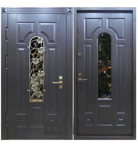 Дверь МДФ со стеклом МК-04