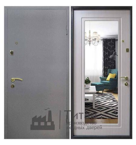 Дверь МДФ с Зеркалом ПЗ-002