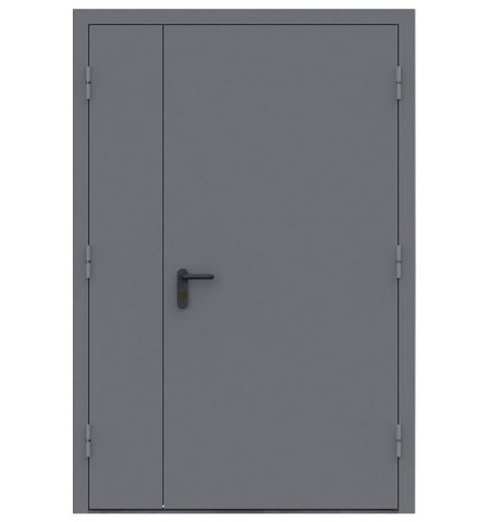 Дверь техническая - ДМ Двухпольная
