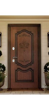 Двери с МДФ отделкой